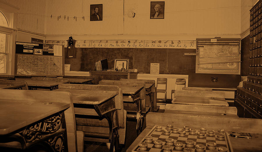 sepia-classroom