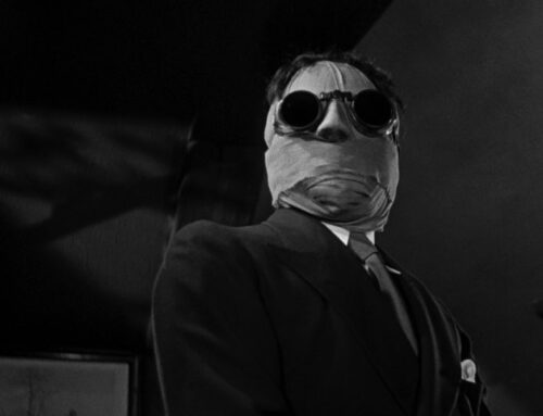 Even the Moon is Frightened of Me: The Invisible Man (Monster Memories)